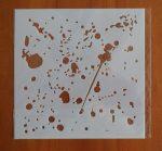 stencil sablon 15*15cm SG-01