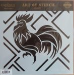 cadence stencil sablon série CSA-06  25*25