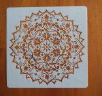 stencil sablon k-03 mandela15*15cm