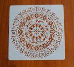 stencil sablon k-07 mandela15*15cm