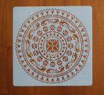 stencil sablon k-09 mandela15*15cm