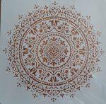 stencil sablon TA-03 mandela  30*30cm