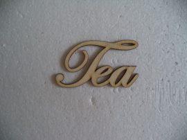 tea felirat fa termék 9,5cm 1db 1779