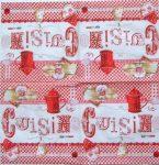 szalvéta 11C_cuisine-rouge